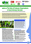 GFRAS GGP Note12 The Role of Producer Organisations in RAS Page 1