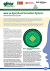 GFRAS GGP Note13 Agricultural Innovation Systems Page 1