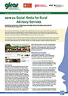 GFRAS GGP Note15 Social Media for Rural Advisory Services Page 1