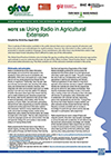 GFRAS GGP Note18 Using Radio in Agricultural Extension Page 1