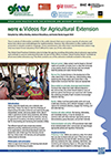 GFRAS GGP Note6 Video for Agricultrual Extension Page 1