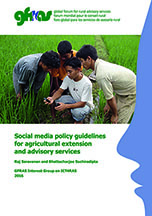 GFRAS Social Media Policy Guidelines Page 1