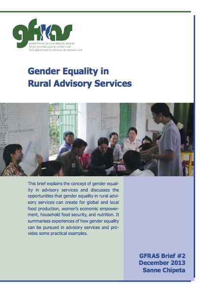 gfras gender equality in ras