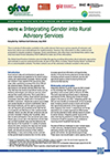 GFRAS GGPNote4 Integrating Gender into RAS Page 1