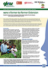 GFRAS GGPNote7 Farmer to farmer Extension Page 1