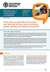FSN Forum summary AEAS nutrition gender Page 01